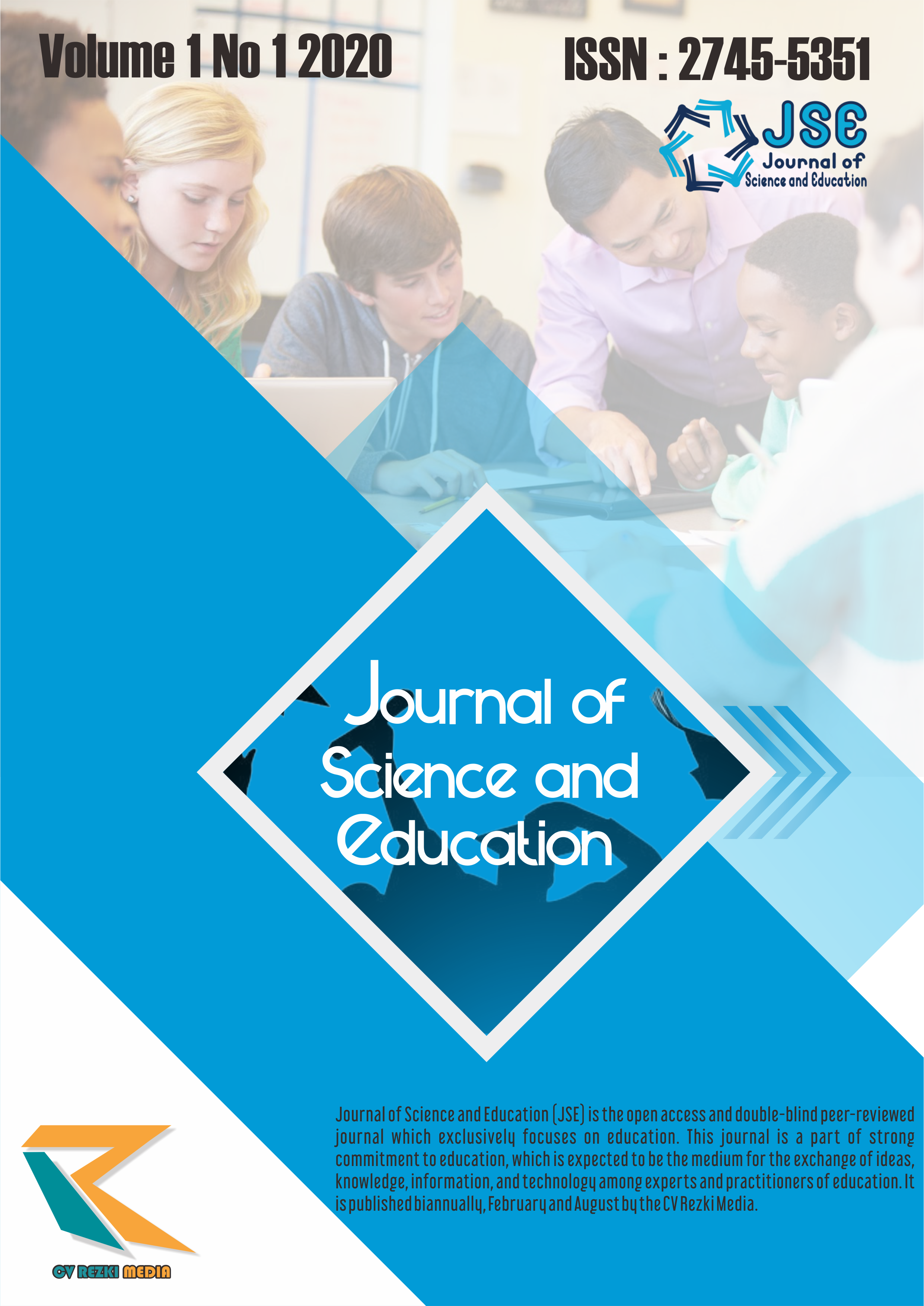 View Vol. 1 No. 1 (2020): Journal of Science and Education (JSE)