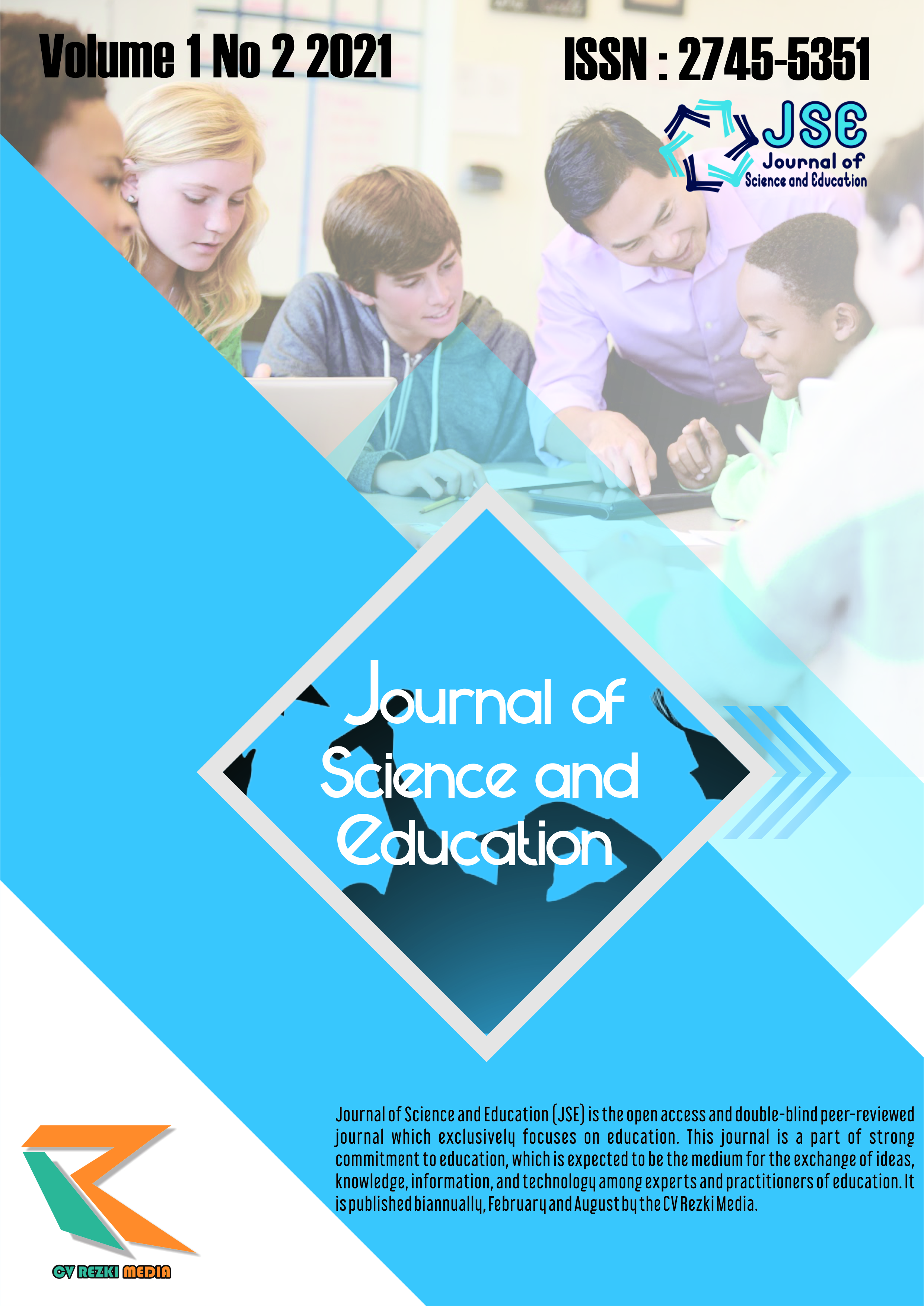 View Vol. 1 No. 2 (2021): Journal of Science and Education (JSE)